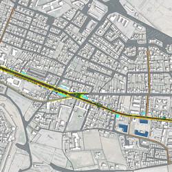 proposition pour l'aménagement du linéaire d'entrée de ville - Carcassonne (11)
