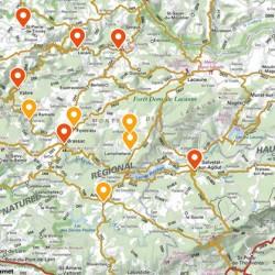 études centres-bourgs sur 16 communes et 20 sites - PETR Hautes Terres d'Oc (81 & 34)