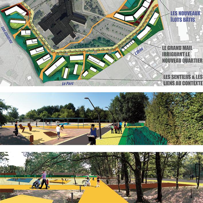 plan guide - Toulouse / espaces publics - Montauban