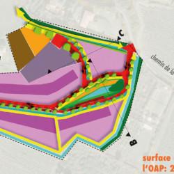 proposition d'OAP - étude de recomposition urbaine à Couffoulens  (11)