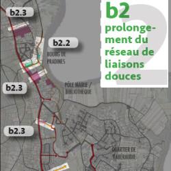 étude bourg-centre phase programme d'actions - Pradines (46)