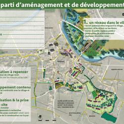 atelier sur l'extension du village - étude de recomposition urbaine à Couffoulens (11)