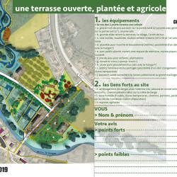 atelier sur le projet d'aménagement de la terrasse du Lauquet - étude de recomposition urbaine à Couffoulens (11)