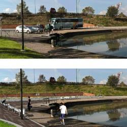quartier fluvial du port de l'Embouchure / canal du Midi - Toulouse