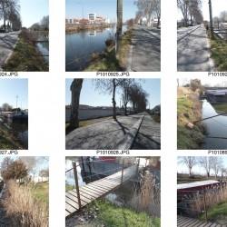 enquêtes et terrain - quartiers fluviaux des canaux à Toulouse (31)