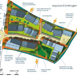 esquisse d'aménagement pour un nouveau quartier (12)