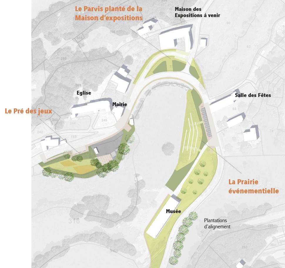 Traverses de bourg et de ville agence turbines paysage for Agence urbanisme toulouse