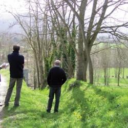 travail de terrain à Saint-Pierre de Rivière (09)