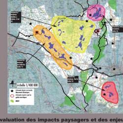 entités paysagères / étude éoliennes - nord de Tarbes (65)