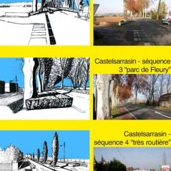 entrée de ville - Castelsarrasin / Moissac (82)