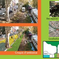 quartier fluvial du port Saint-Sauveur / canal du Midi - Toulouse