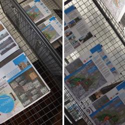 panneaux d'exposition - Saint Nazaire (66)