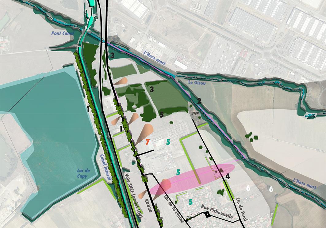 Laboration d 39 oap plu en cours agence turbines for Agence urbanisme toulouse