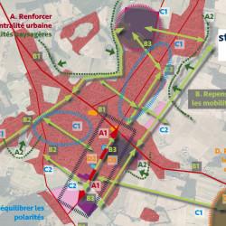 stratégie pour l'étude centre-bourg à Eaunes (31)