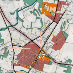 synthèse à l'échelle du village pour l'étude centre-bourg à Eaunes (31)