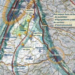 synthèse pour l'étude centre-bourg à Eaunes (31)