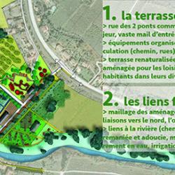 la terrasse du Lauquet réhabilitée à Couffoulens (11)
